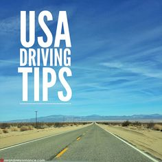 Plan your USA road trip – 10 tips for driving in California via @mrandmrsromance