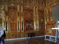 A pictorial tour of majestic Catherine Palace near St. Petersburg, Russia, which was the site of the famous Amber Room Peter The Great, Catherine The Great, Winter Palace, Summer Palace, German Royal Family, Amber Room, Frederick William, Imperial Russia, Baroque