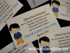 Tarjetas Agradecimiento GRADUACION