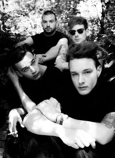 the 1975- I cannot wait to see these guys live in May!!!!! <3