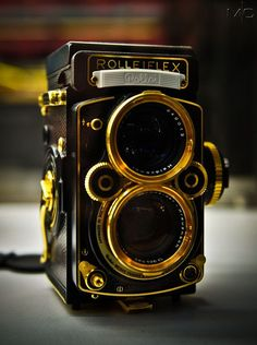 Rolleiflex, made in Germany. Much love.