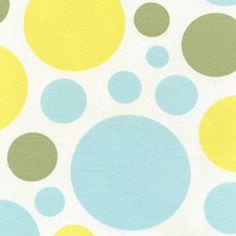 Heather Bailey - Nicey Jane - Dream Dot in Splash duffel bag option