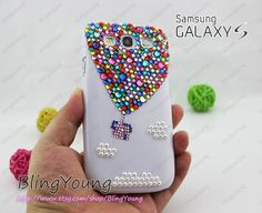 Samsung Galaxy S3 case galaxy s4 case galaxy note by BlingYoung, $29.99