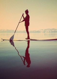 Paddle Boarding.  My next goal!   How about yours?  #WOLO      #Exercise www.facebook.com/weightofflifeon