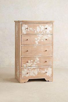 Pearl Inlay Narrow Dresser Furniture Projects, Furniture Making, Furniture Makeover, Home Projects, Home Furniture, Furniture Design, Narrow Dresser, Old Dressers, Ikea Dresser