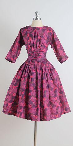 West End Paradise . vintage 1950s dress . by millstreetvintage