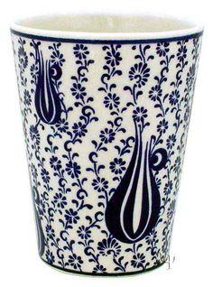 Iznik Design Ceramic Cup