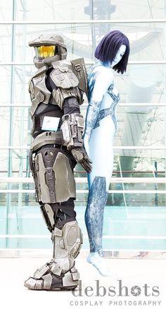 SDCC 2013. Master Chief and Cortana