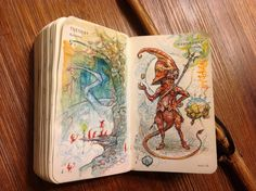 Number 310 of Kenneth Rocafort's 365 day sketch project.