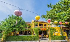 the peaceful beauty in Hoi An streets
