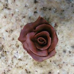 Rosas de chocolate