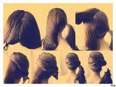 Peinado elegante y sencillo