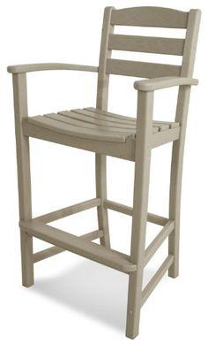 polywood td202sa la casa caf bar arm chair sand polywood httpwww