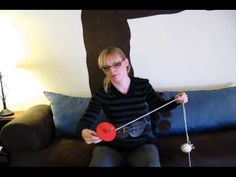 Plying Two Single Yarns on a Drop Spindle - Spinning Tutorial