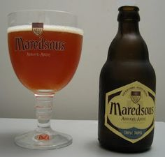 Maredsous 10 Tripel.  Really good; I'm beginning to be convinced that I need to live in Belgium.