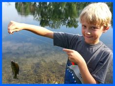 FUN FRIDAYS - Fishing with Kids! Inexpensive outdoor fun! www.bestbuddyfishing.com