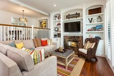 Big Canyon - traditional - Family Room - Orange County - B. Eilers Designs