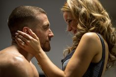 Jake Gyllenhaal and Rachel McAdams in Southpaw