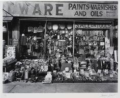 Berenice Abbott, Hardware Store, 1938.