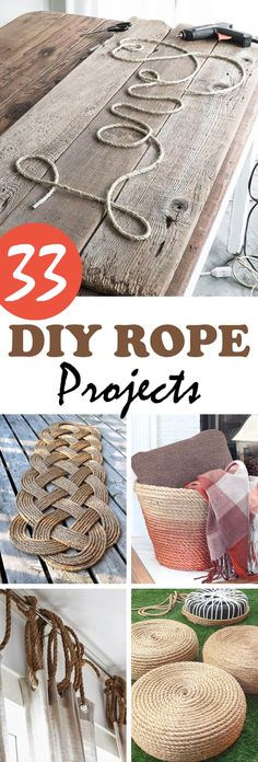 Neutral colors in the décor of my home have always been appealing to me. I have a lot of shades of brown and black in my living space, and recently, I was given an accessory for the entrance of my home that uses rope. Getting this gift got me thinking about other DIY rope projects that I could ...