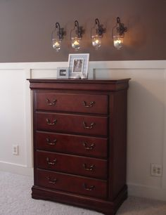 DIY: Wainscoting...so simple to achieve this awesome look! (love this site...too bad for my hubby though - so many projects.)