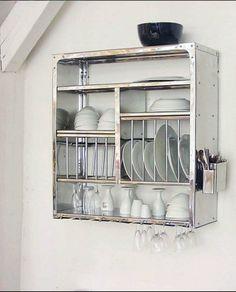 Dish Drain   Stainless Steel   Made in India   buy @ Tse Tse     http://www.tse-tse.com/boutique/#mainViewIndex=0;prodID=184;prodViewIndex=1