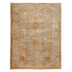 oushak, Number offered by Woven Accents, is part of the antique turkish collection. Rugs On Carpet, Carpets, Kilim Rugs, Oushak Rugs, Modern Rugs, Floor Rugs, Cool Furniture, Area Rugs, Antiques