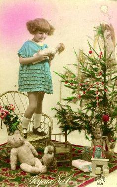 Carte ancienne de Noël