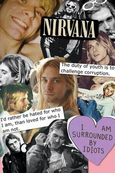 Quotes music rock kurt cobain new Ideas Nirvana Songs, Nirvana Band, Kurt Cobain Quotes, Nirvana Kurt Cobain, Music Memes, Music Quotes, Punk Rock Quotes, Tim Burton, Donald Cobain