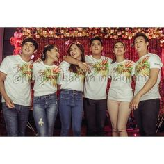 """This is James Reid, Nadine Lustre, Kathryn Bernardo, Daniel Padilla, Liza Soberano, and Enrique Gil enjoying a good time together during the taping and recording of the ABS-CBN 2015 Christmas Station ID, """"Thank You for the Love!"""" Indeed, these three Kapamilya love teams have joined together. #JaDine #KathNiel #KathNielBernaDilla #LizQuen #ABSCBNChristmasStationID #ThankYoufortheLove"""