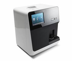 hematology analyzer, medical, machine, white black, samsung