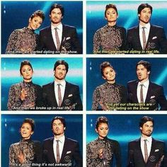 ina and nina's speech - delena won pca 2014 NIAN / DELENA