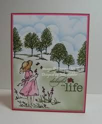 Paper Pleasing Ideas: Stampin' Up Scenic Cards Stamping Up Cards, Rubber Stamping, Copics, Cool Cards, Flower Cards, Creative Cards, Kids Cards, Greeting Cards Handmade, Scrapbook Cards