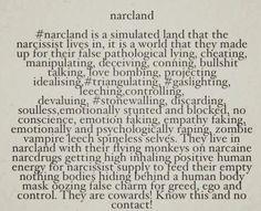 #narcland #NPD #realproblem
