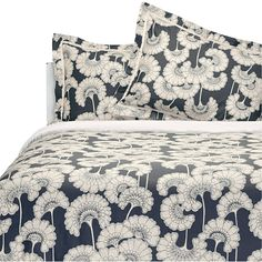 Florence Broadhurst - Bedlinen in Japanese Floral fabric (Florence Broadhurst fabrics, wallpapers, rugs and accessories all available from Mills and Kinsella 07921 215026)