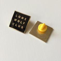 Image of Lone Wolf Club Enamel Lapel Pin