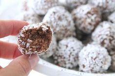 Chokladbollar som smakar som delicatobollar
