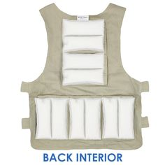 Adjustable Unisex Zipper Cooling Vest with Small Phase Change Packs Heat Stress, Packing A Cooler, Feeling Great, Vests, Change, Zipper, Unisex, Interior, Products
