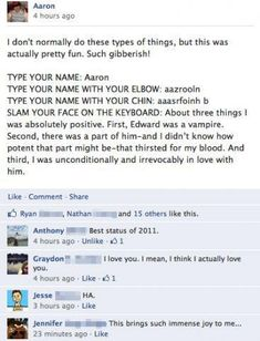 HAHAHA! I like Twilight but still, this is absolutely hysterical!