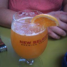 Brewmosa @ Snooze - New Belgium Triple and OJ
