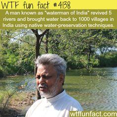 Waterman of India - WTF fun facts