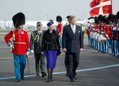 venskdam.se:  Dutch State Visit to Denmark, March 17, 2015-Queen Margarethe and King Willem-Alexander