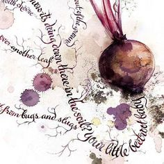Alison Carmichael ~ calligraphy