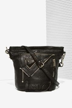 Factory She + Lo Let It Ride Leather Bucket Bag