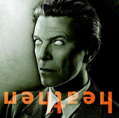 By Jonathan Barnbrook, David Bowie Heathen album cover, 2002