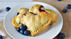 Baked Blueberry Hand Pies | Growing up Gabel - Featured on #HomeMattersParty 101