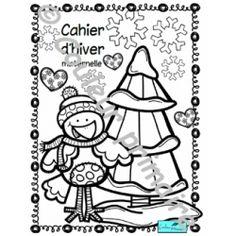 Cahier d'activités Hiver et Saint-Valentin School Resources, Preschool