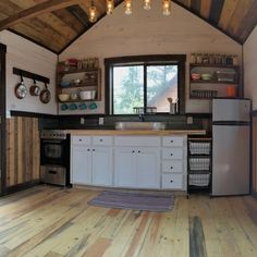 Vintage style tiny home