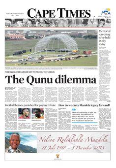 News making headlines: The Qunu dilemma