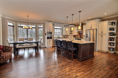 Dream Kitchen! It could be yours!!!  Beautiful home in Moncton North, Rural Estates! Contact us for more information!!  https://www.brentryan.ca/featured-listings/